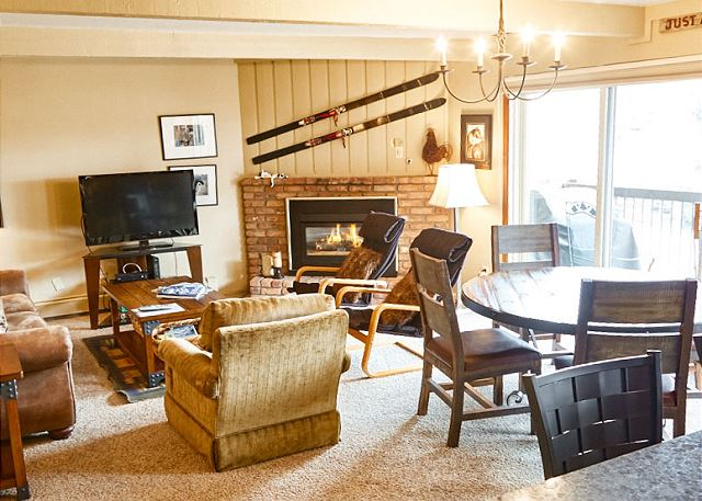 Snowmass Village CO Vacation Rental A cozy gas
