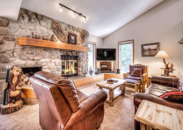 Frisco CO Vacation Rental Rustic wood furnishings