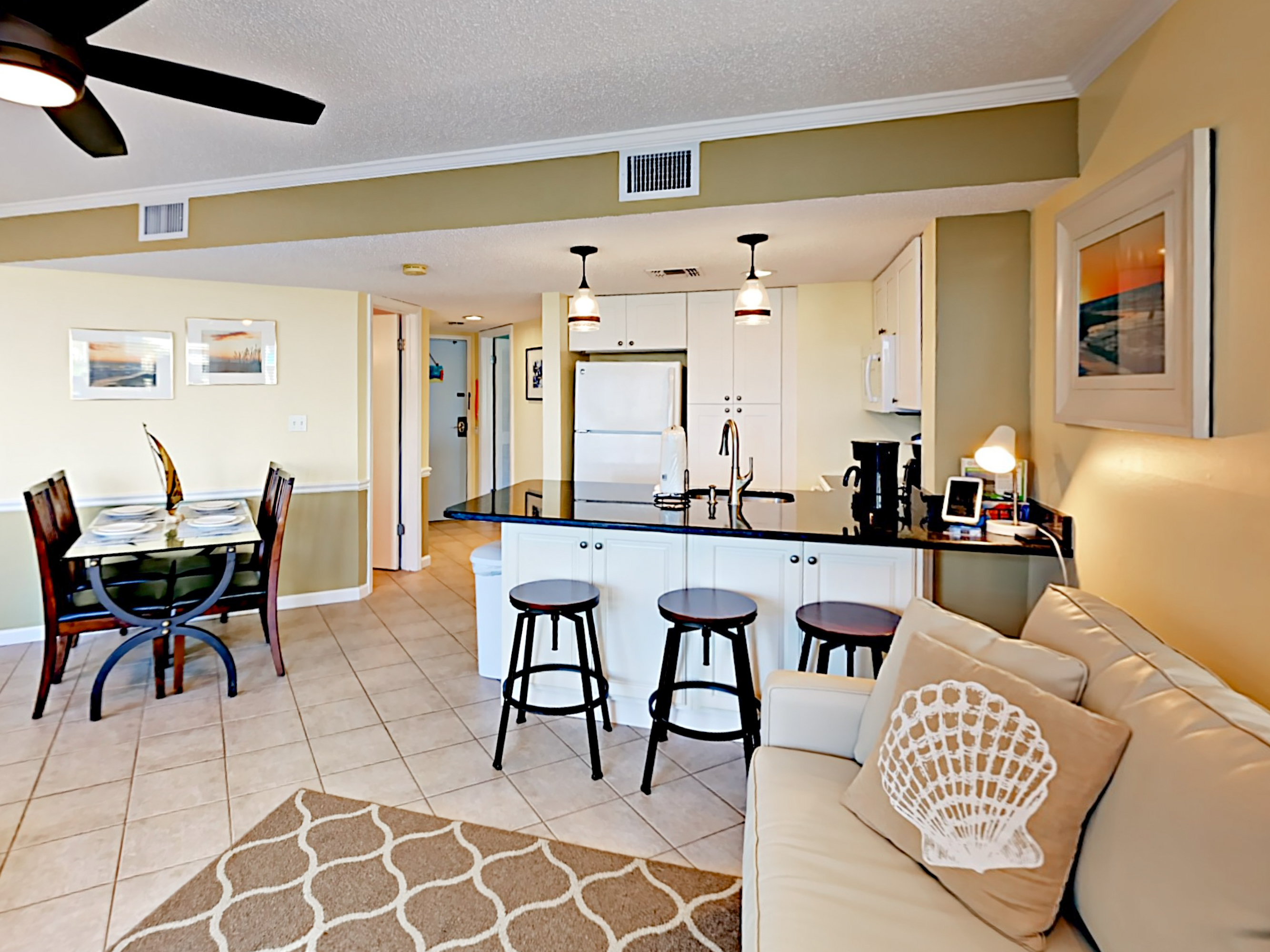 Gulf Shores AL Vacation Rental The open living