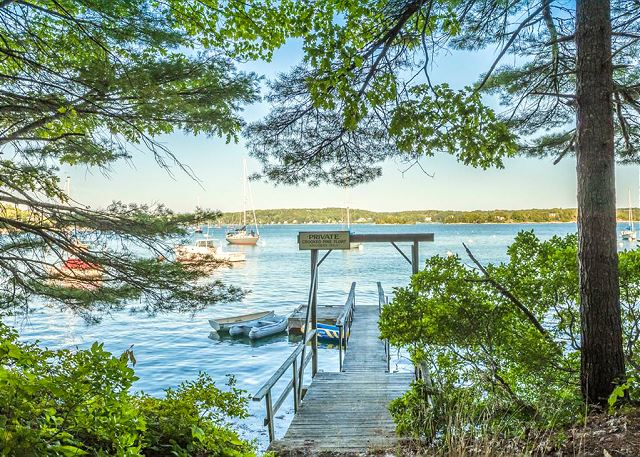 Boothbay Harbor ME Vacation Rental Follow the boardwalk