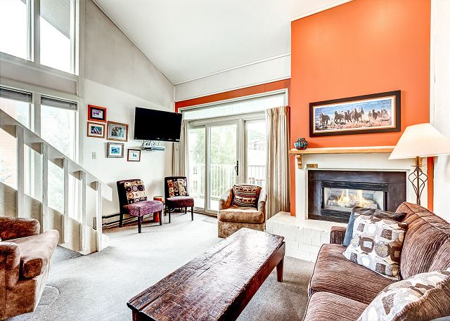 Steamboat Springs CO Vacation Rental Curl up by