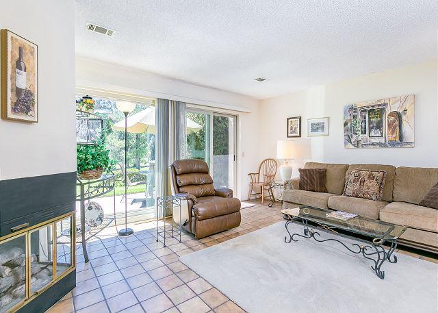 Nipomo CA Vacation Rental The living room