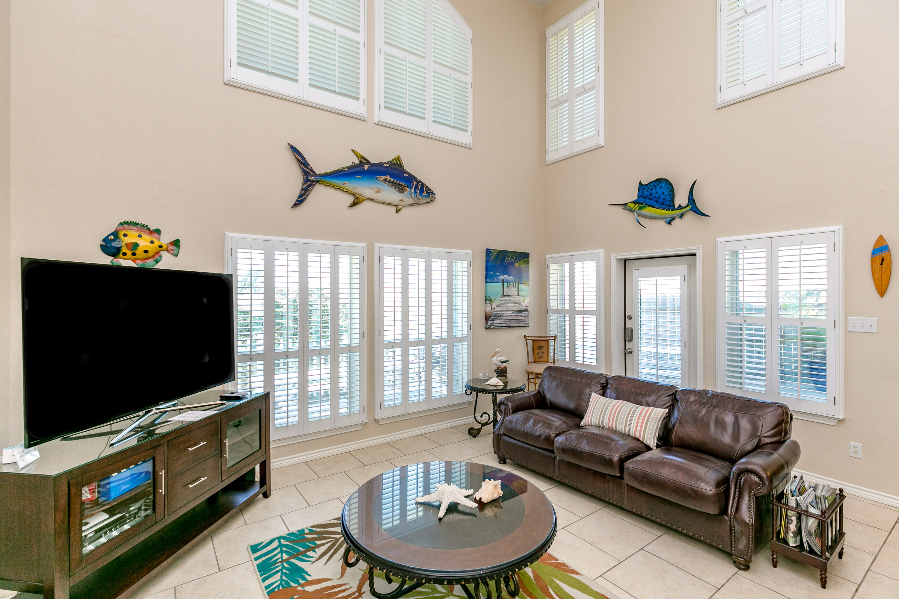 Corpus Christi TX Vacation Rental Open and airy,