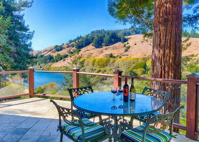 Monte Rio CA Vacation Rental Crack a bottle