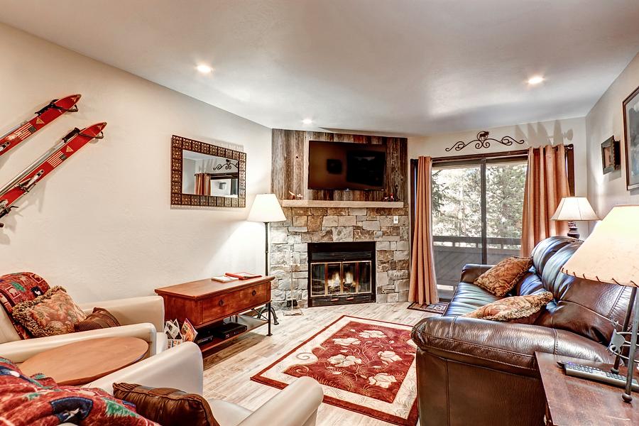 Breckenridge CO Vacation Rental The living room