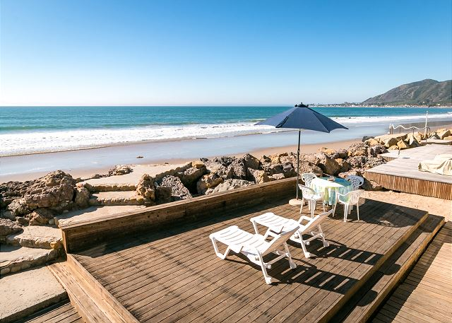 Ventura CA Vacation Rental A secluded spot