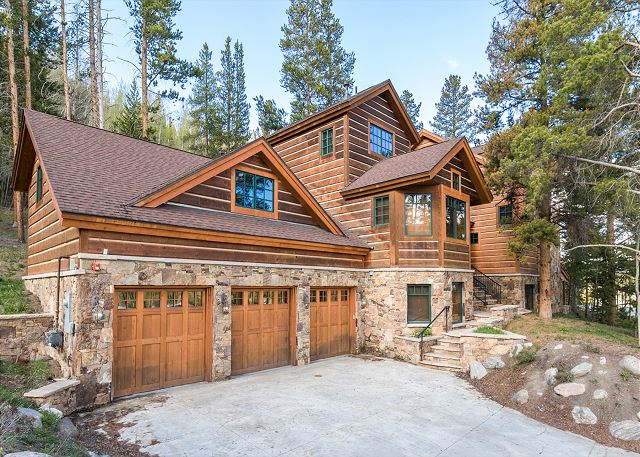 Keystone CO Vacation Rental This secluded estate
