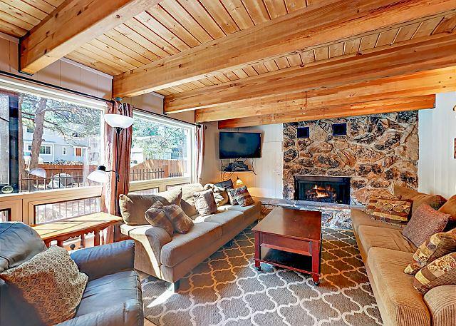 South Lake Tahoe CA Vacation Rental Open floor plan