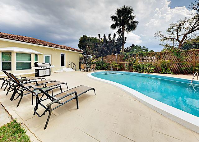 Lantana FL Vacation Rental The large patio