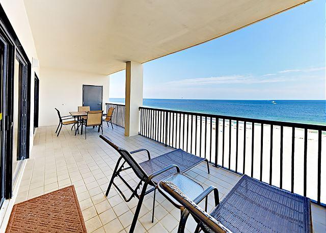 Orange Beach AL Vacation Rental Stunning 180-degree views