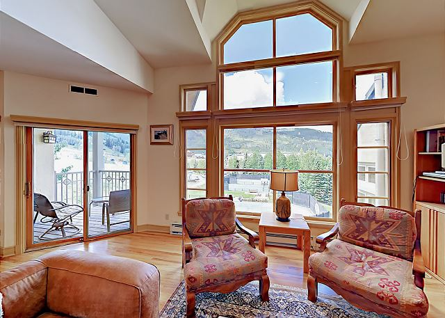 Beaver Creek CO Vacation Rental Double height picture