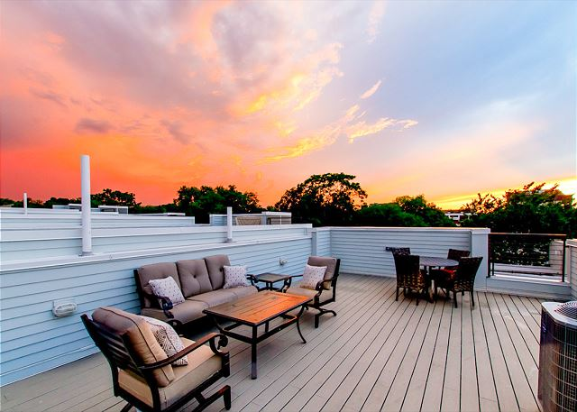 Nashville TN Vacation Rental Private rooftop with