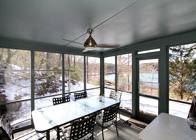 Orleans MA Vacation Rental Outdoor dining on