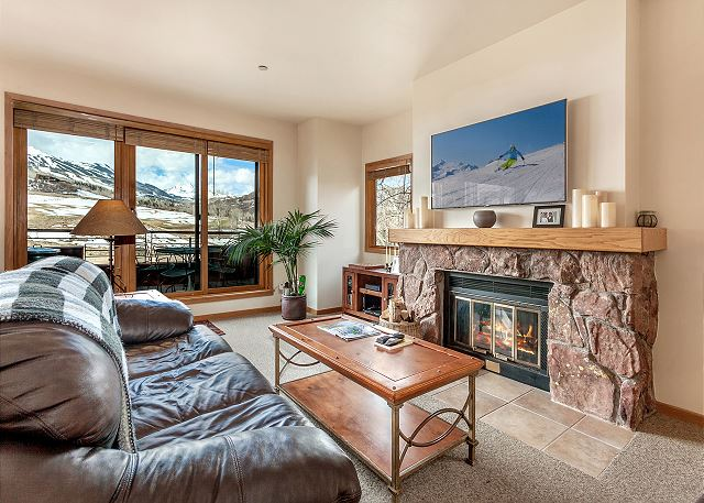 Snowmass Village CO Vacation Rental Settle in for