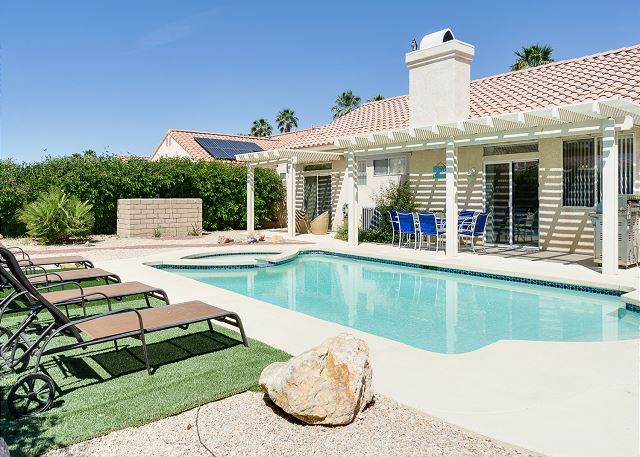 Cathedral City CA Vacation Rental Our home boasts