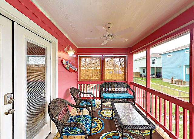 Rockport TX Vacation Rental Relax on the