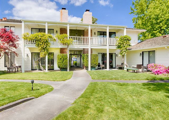Napa CA Vacation Rental Welcome to Silverado!