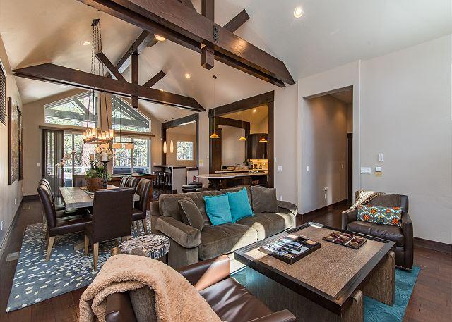 South Lake Tahoe CA Vacation Rental Vaulted ceilings, custom