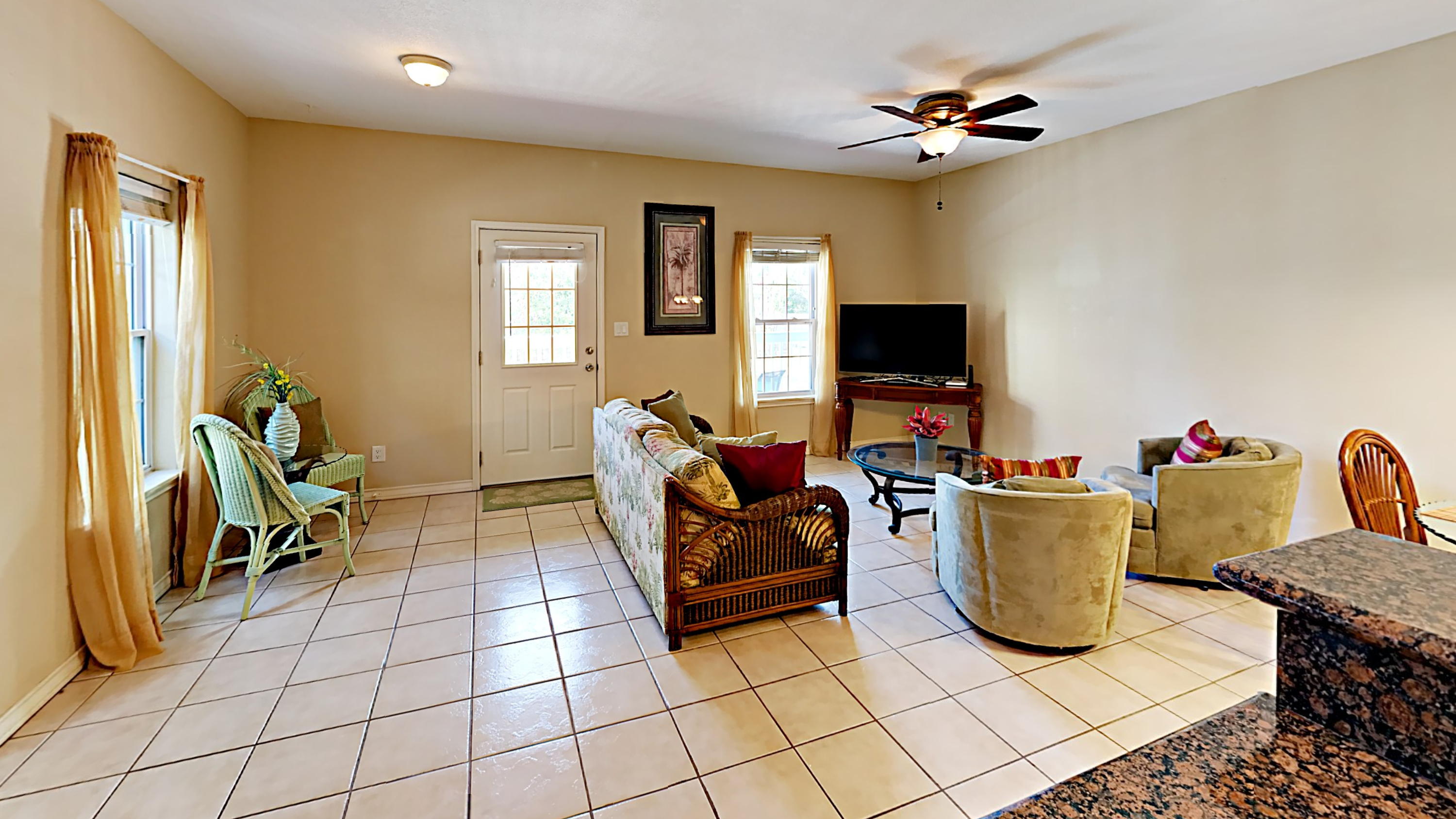 South Padre Island TX Vacation Rental Another sitting area