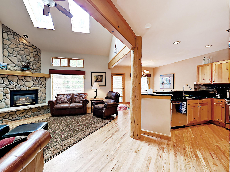 Keystone CO Vacation Rental An open design