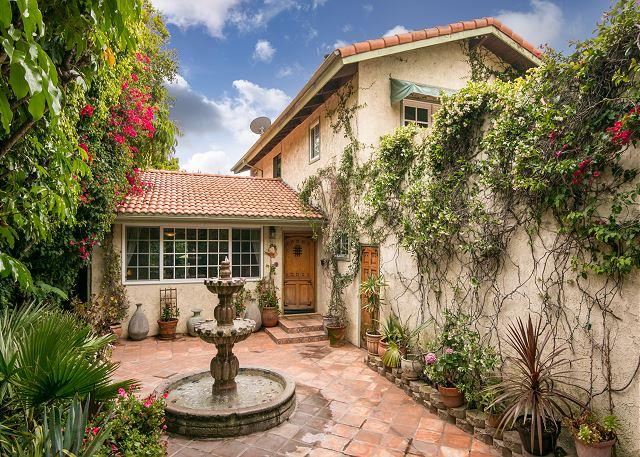 Santa Barbara CA Vacation Rental Enter through the