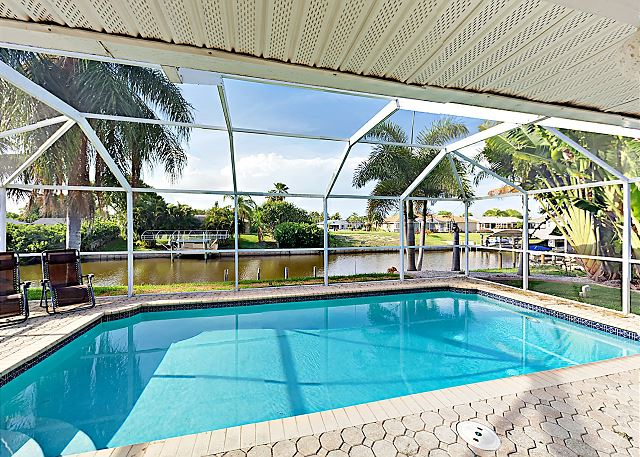 Cape Coral FL Vacation Rental Gorgeous heated pool