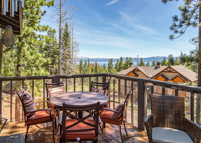 Tahoma CA Vacation Rental Al fresco dining
