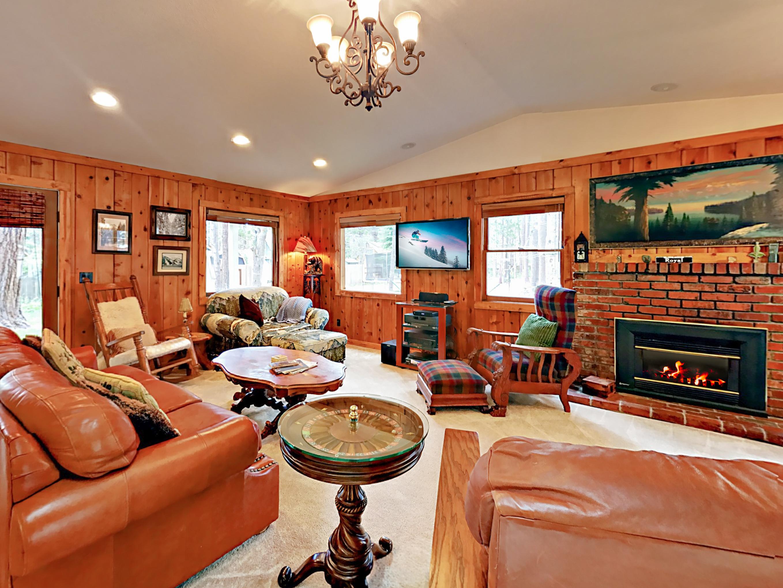 South Lake Tahoe CA Vacation Rental Knotty pine walls,