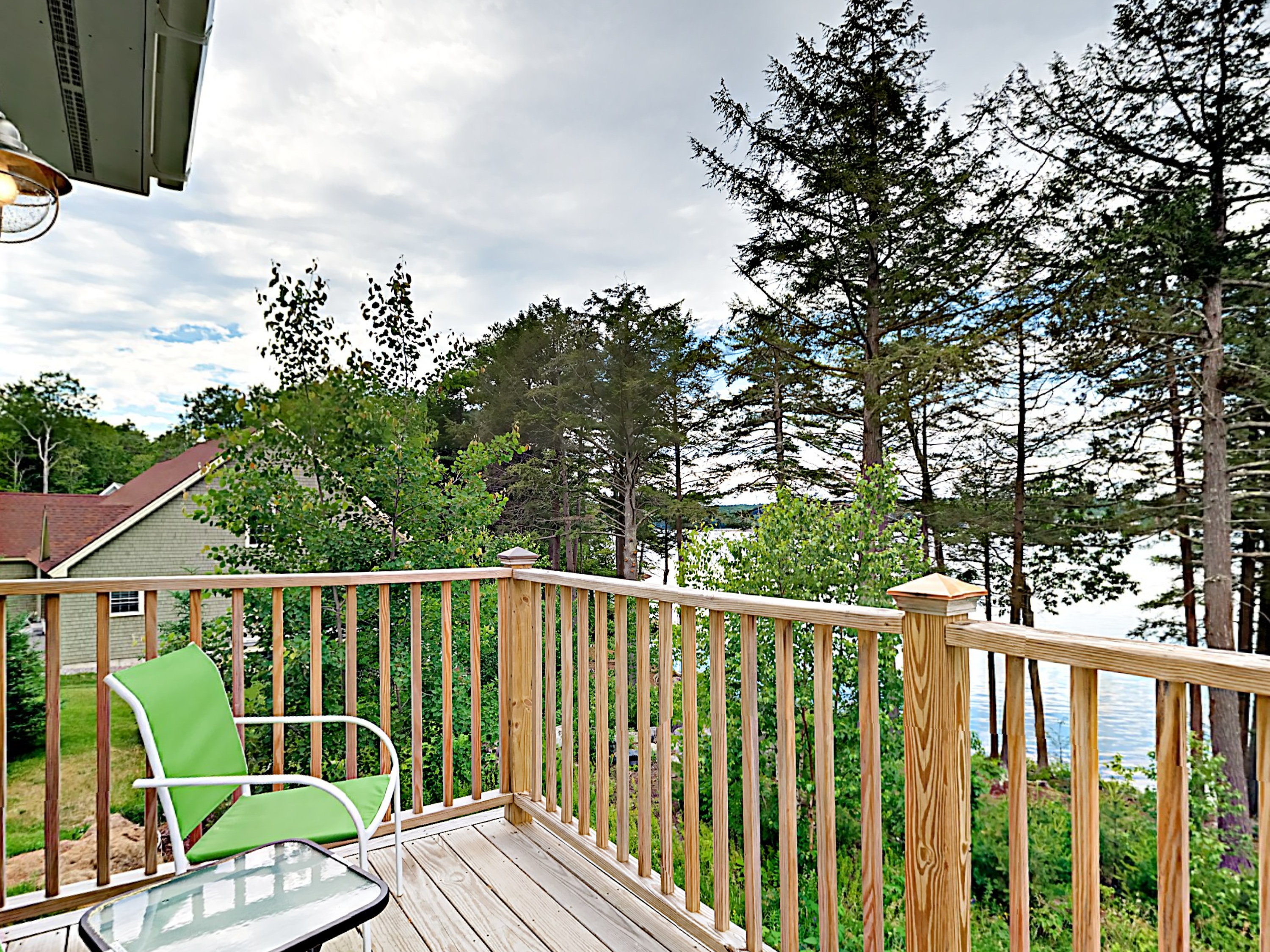 Edgecomb ME Vacation Rental Two patio chairs