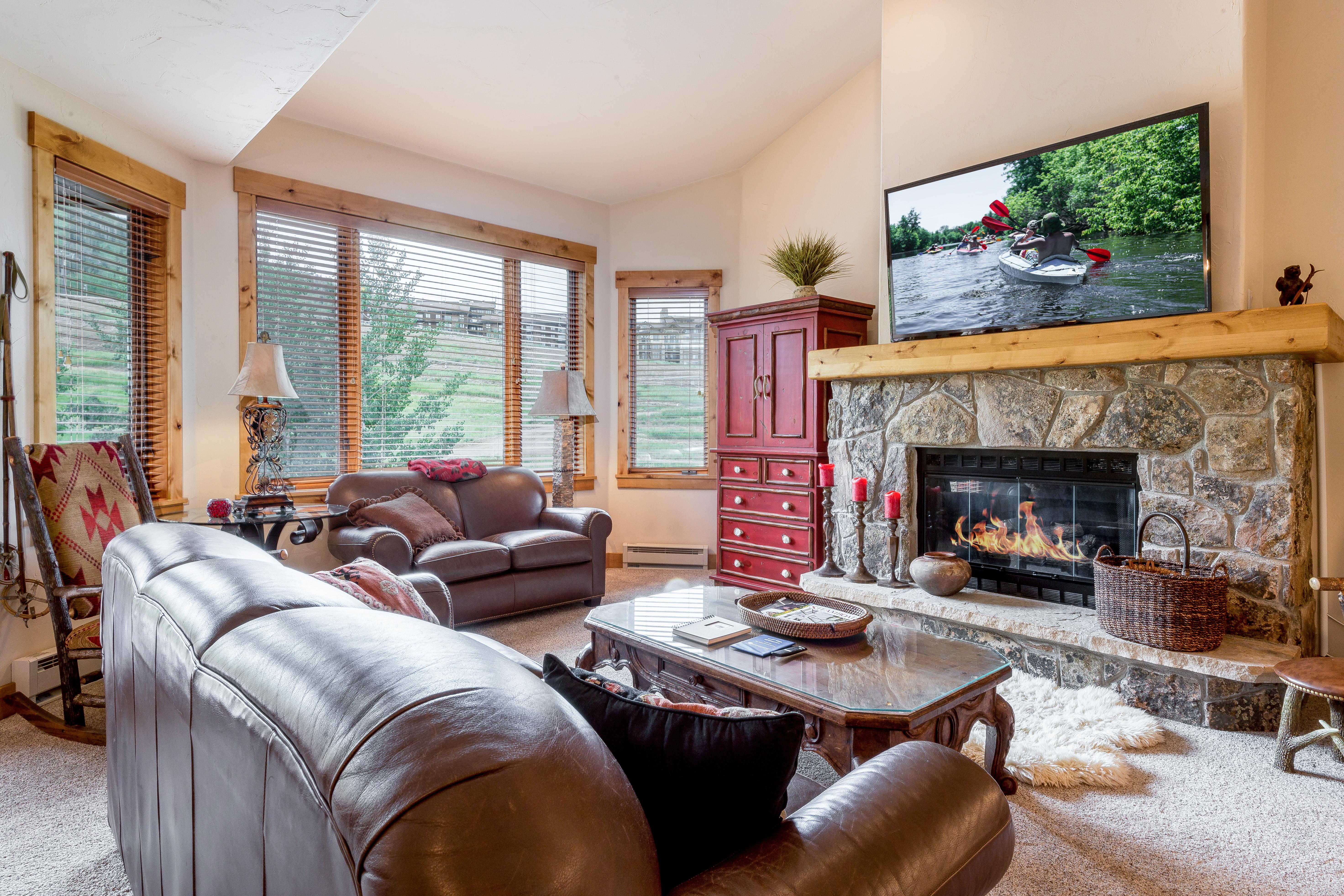 Steamboat Springs CO Vacation Rental Elegant furnishings feature