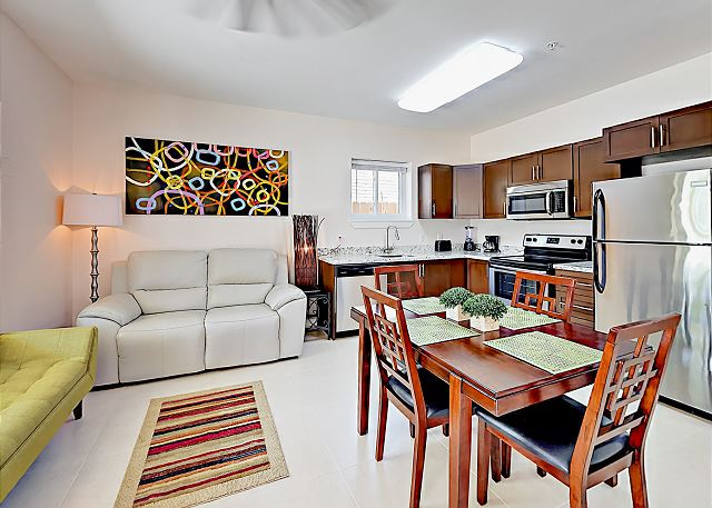 South Padre Island TX Vacation Rental There is seating