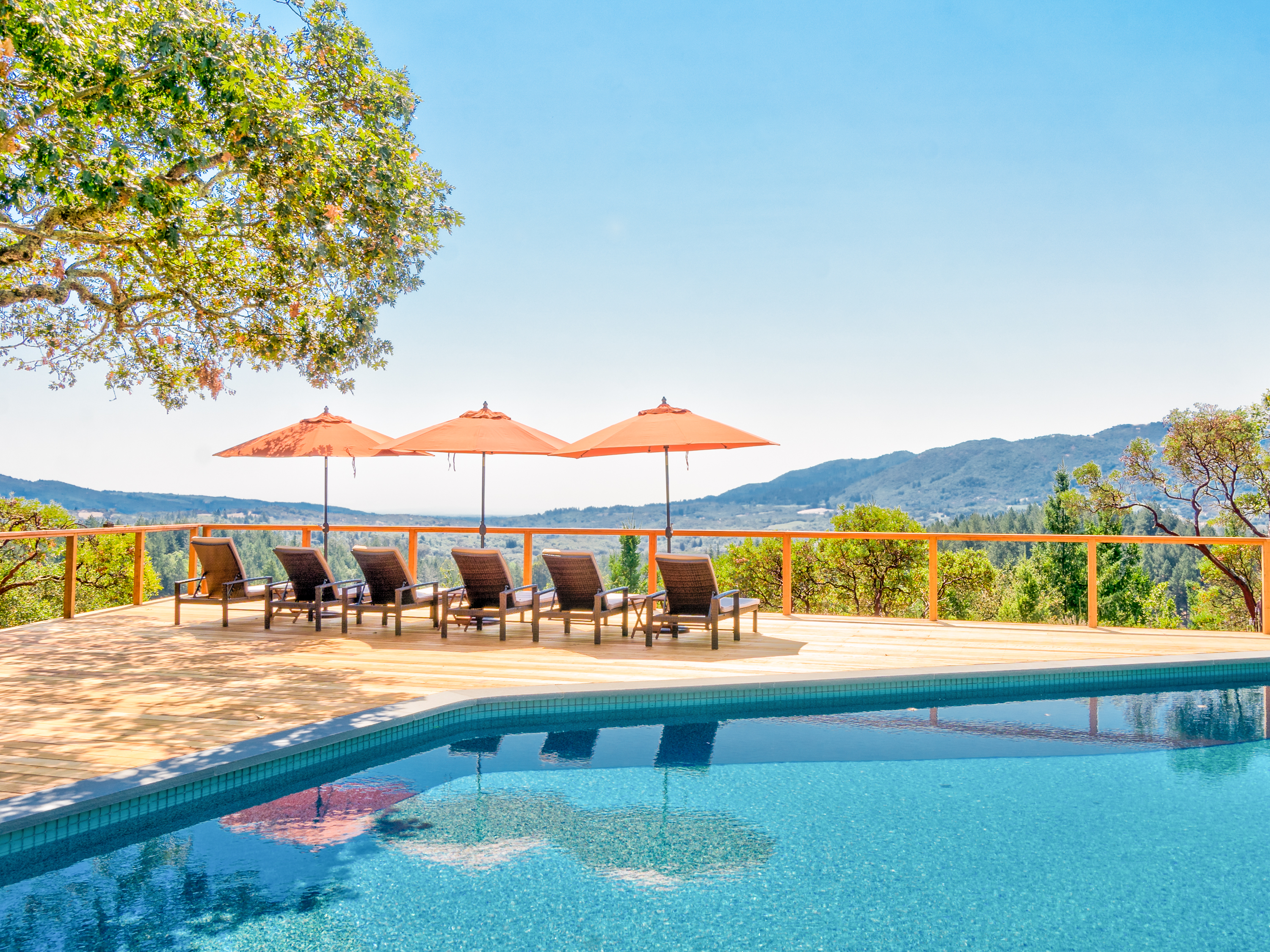 Kenwood CA Vacation Rental The cottage has