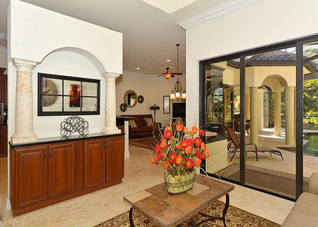 Sarasota FL Vacation Rental 2nd living area,