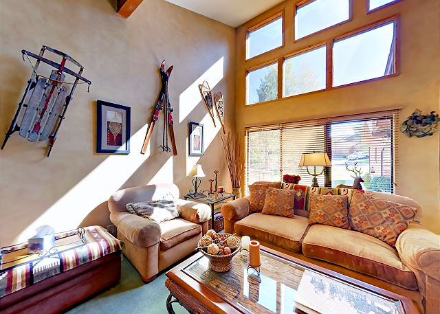 Park City UT Vacation Rental Alpine-inspired decor in