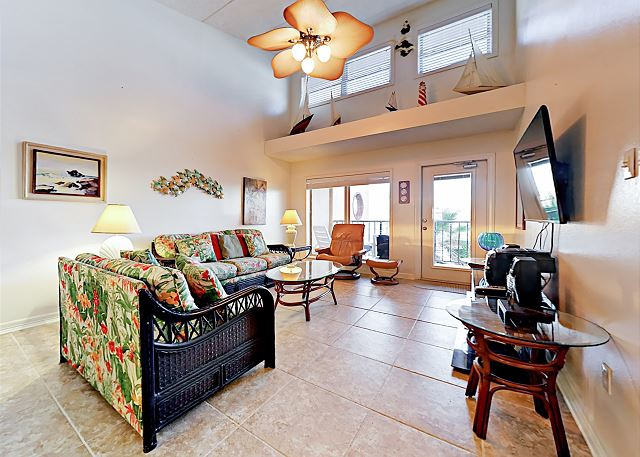 South Padre Island TX Vacation Rental Tile floors, high