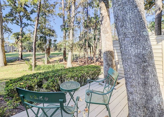 Hilton Head SC Vacation Rental Tranquil setting overlooking