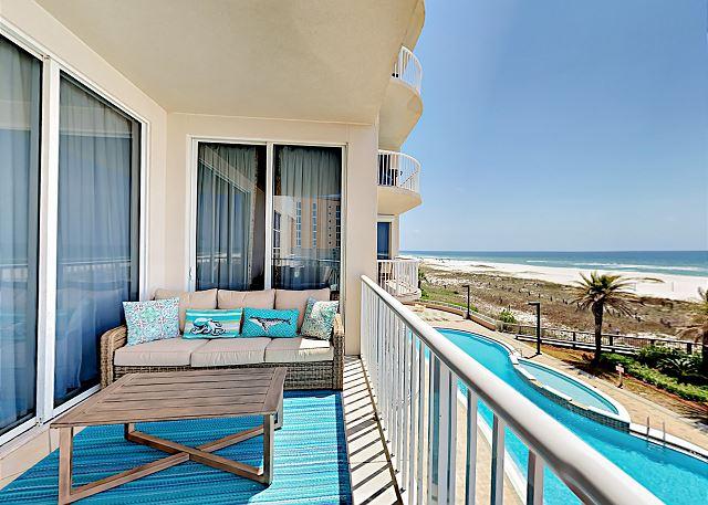 Pensacola FL Vacation Rental Beach vistas and