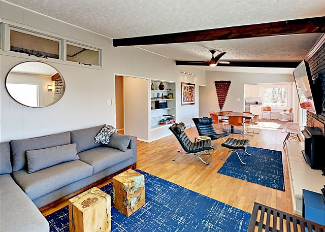 Black Mountain NC Vacation Rental Cozy up next