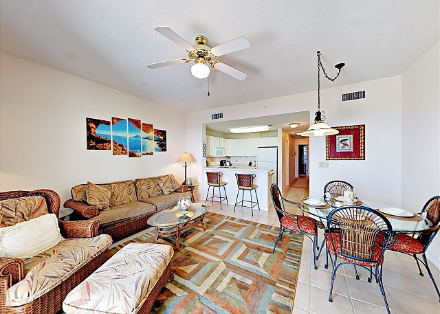 Gulf Shores AL Vacation Rental The sofa in
