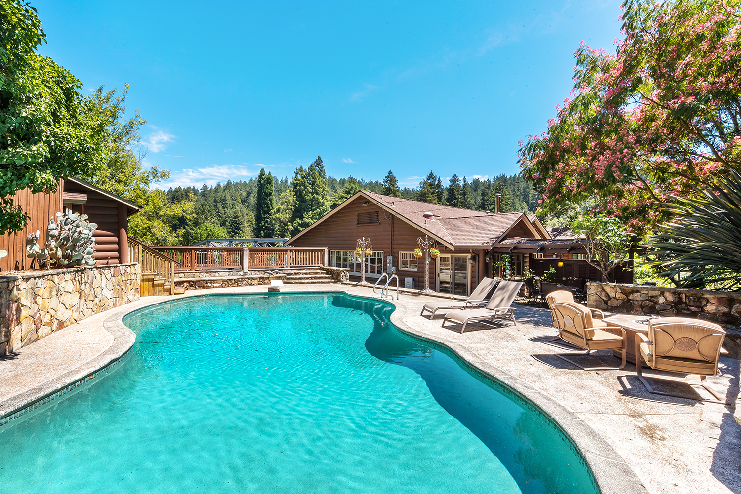 Forestville CA Vacation Rental Welcome to Rocktop!
