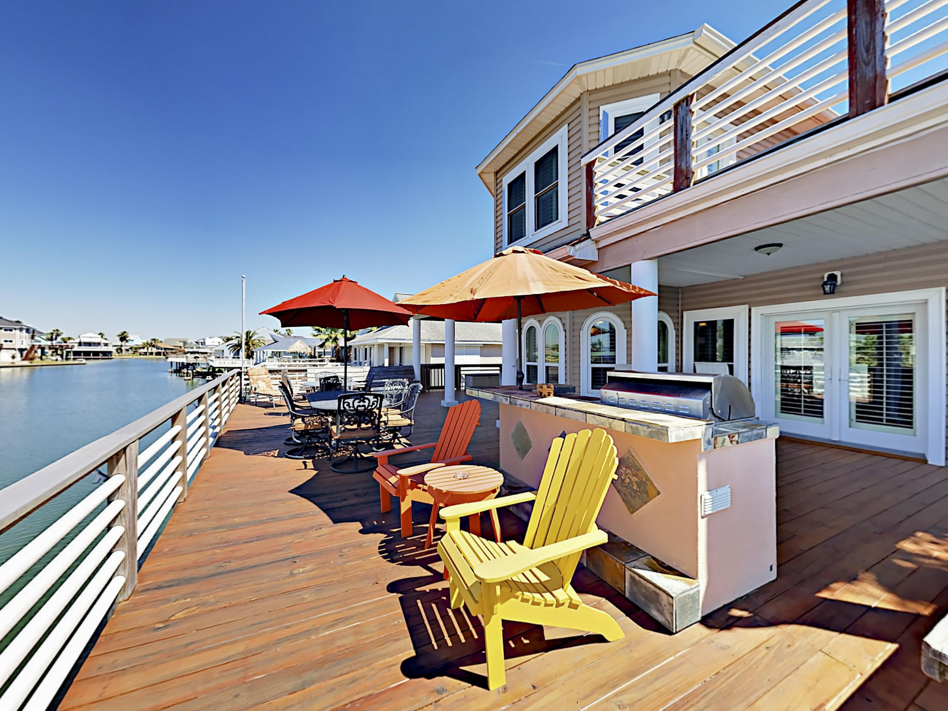 Galveston TX Vacation Rental Prepare to entertain