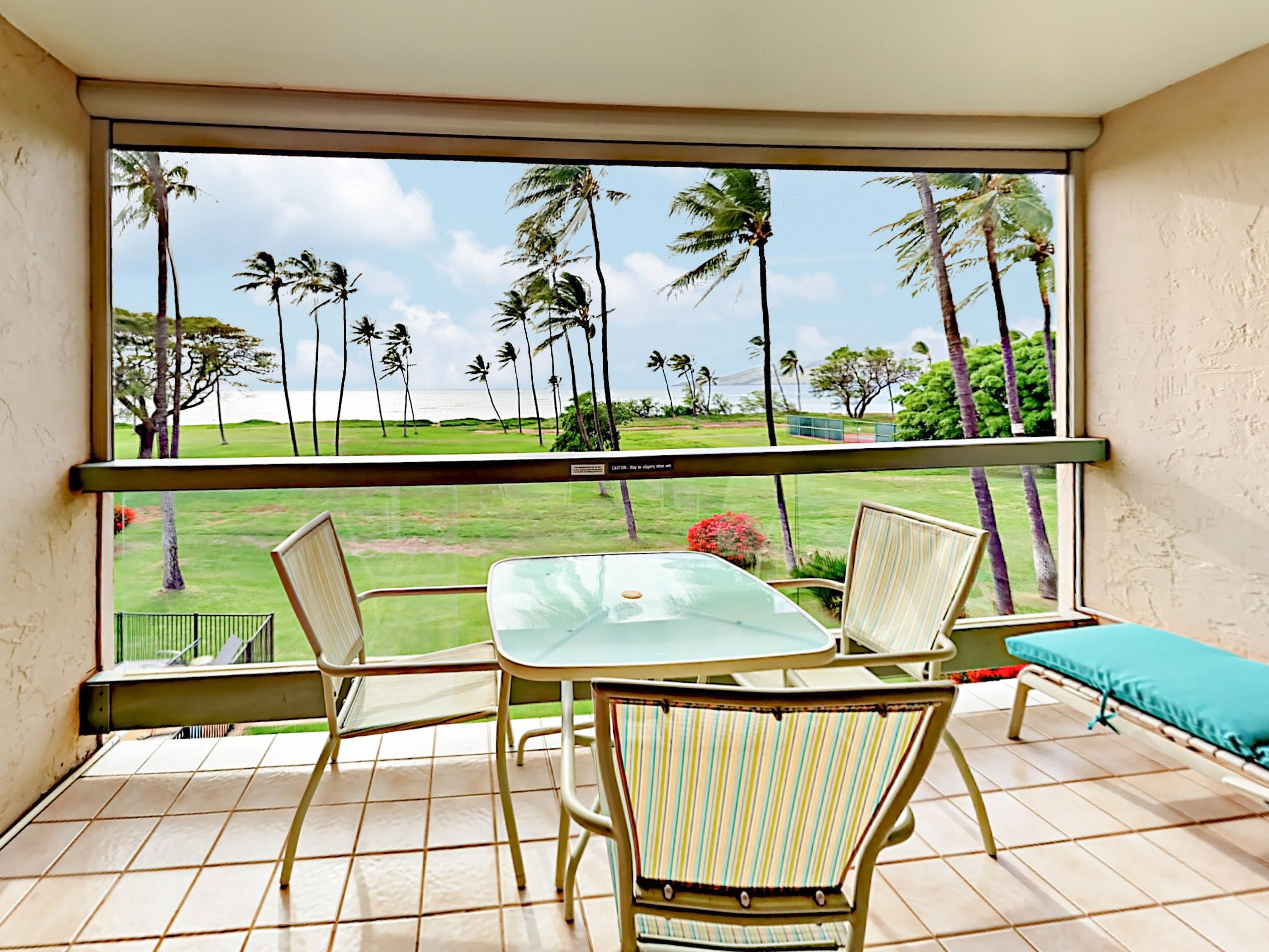 Kihei HI Vacation Rental Oceanfront condo with