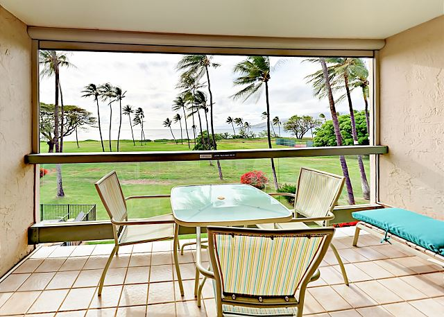 Kihei HI Vacation Rental Oceanfront condo with