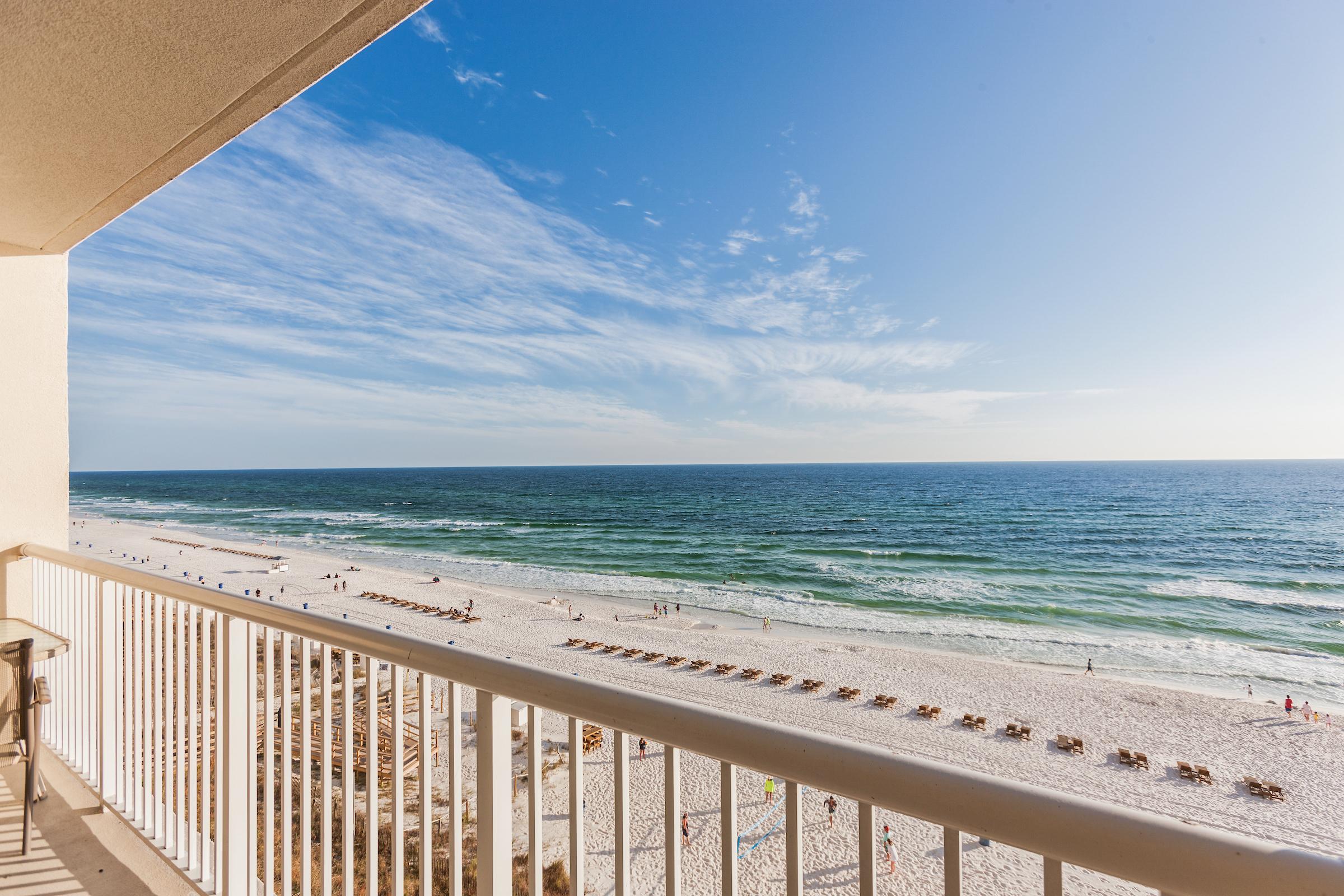 Panama City Beach FL Vacation Rental Gulf views stretch