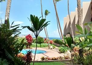 Hale Ono Loa #1655-111 1BR w/ Ocean-View Lanai & Pool