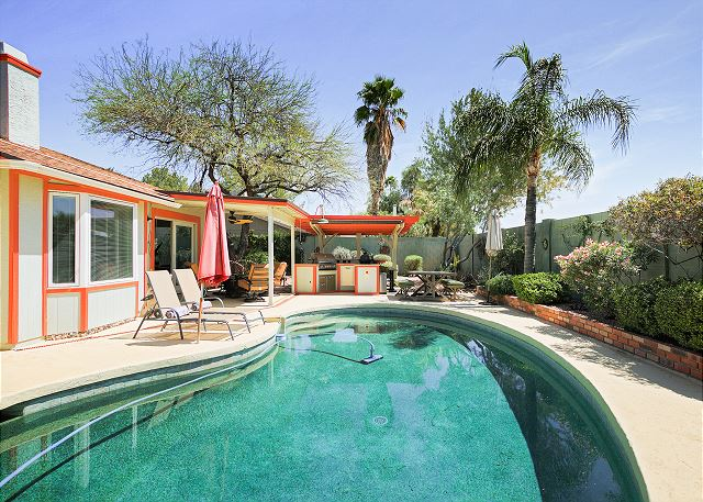Scottsdale AZ Vacation Rental Private pool at