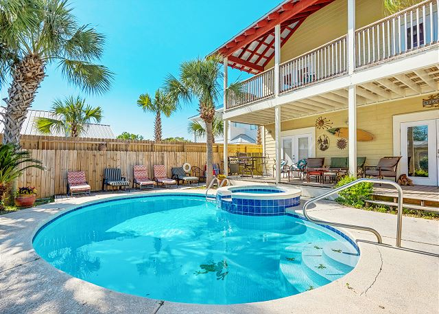 Crystal Beach 5BR w/ Heated Pool, Spa & Game Room | TurnKey
