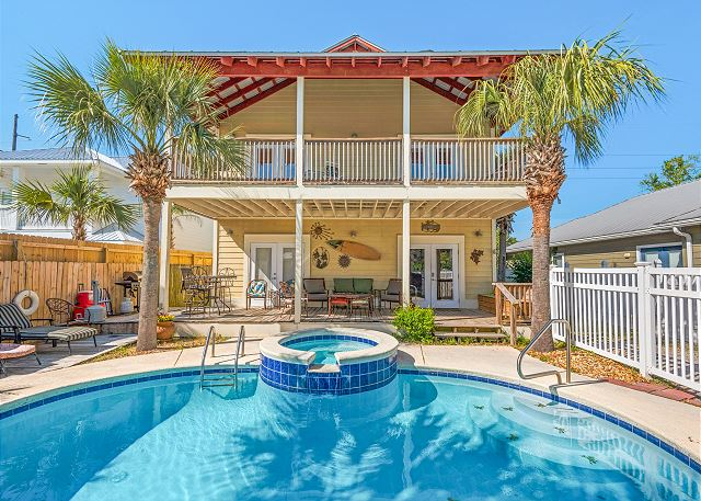 3BR/3BA - Pool, Spa & Game Room, 2 Blocks to Beach | TurnKey