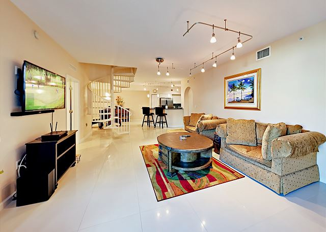 Delray Beach FL Vacation Rental The open living