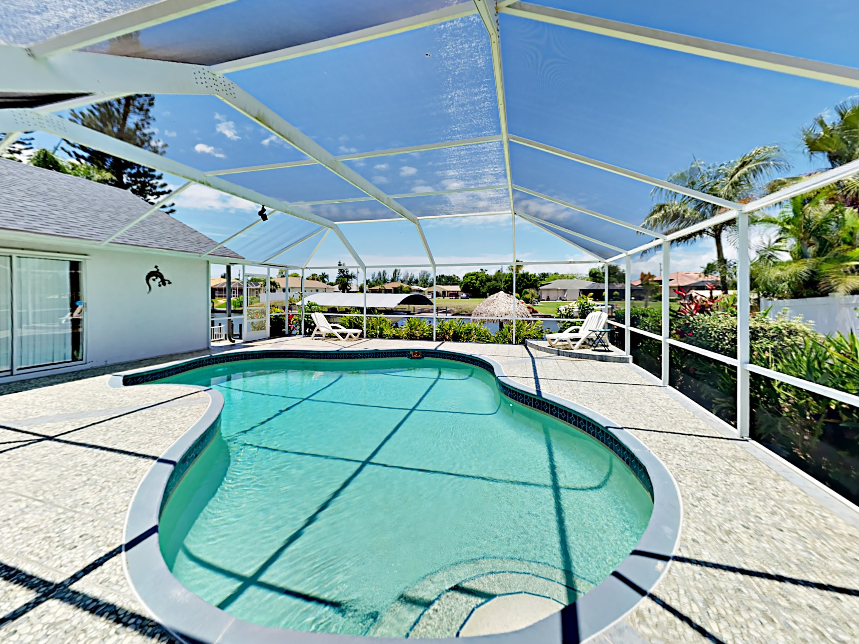 Cape Coral FL Vacation Rental Enjoy a dip